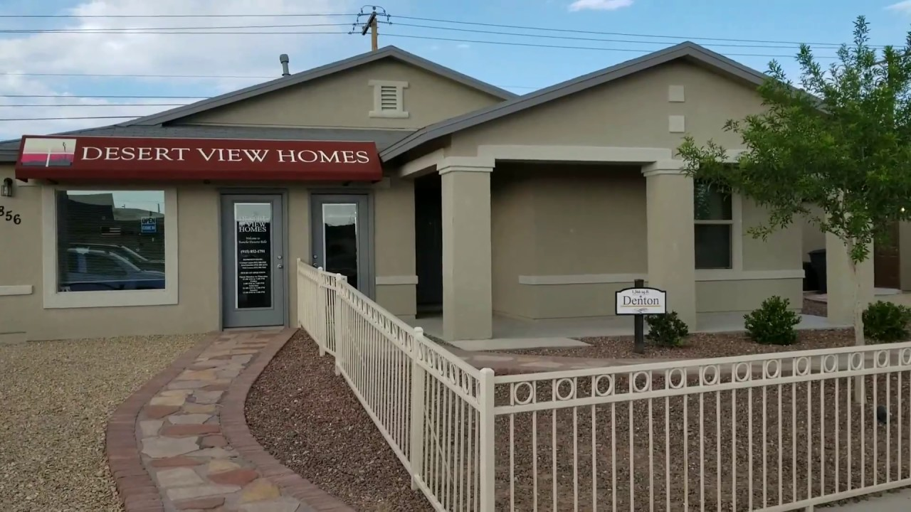 desert view home for sale in el paso tx brand new at affordable