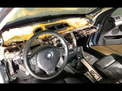 BMW E39 5 Series Blower Motor and FSU Replacement DIY