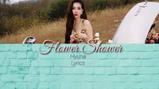 Hyuna - Flower Shower ( Easy Lyrics__Rom)