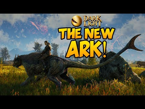 DARK AND LIGHT - THE NEW ARK! - ARK w/ MAGIC, DRAGONS, MONSTERS & MORE! - Dark and Light Gameplay #1