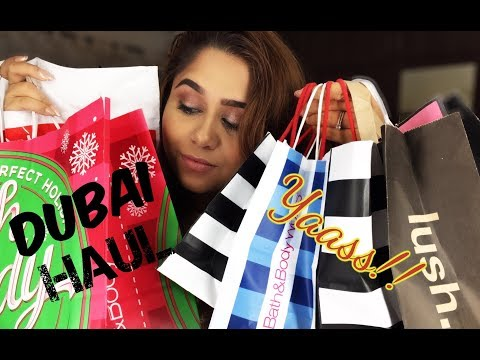 Dubai Shopping Haul | 2018