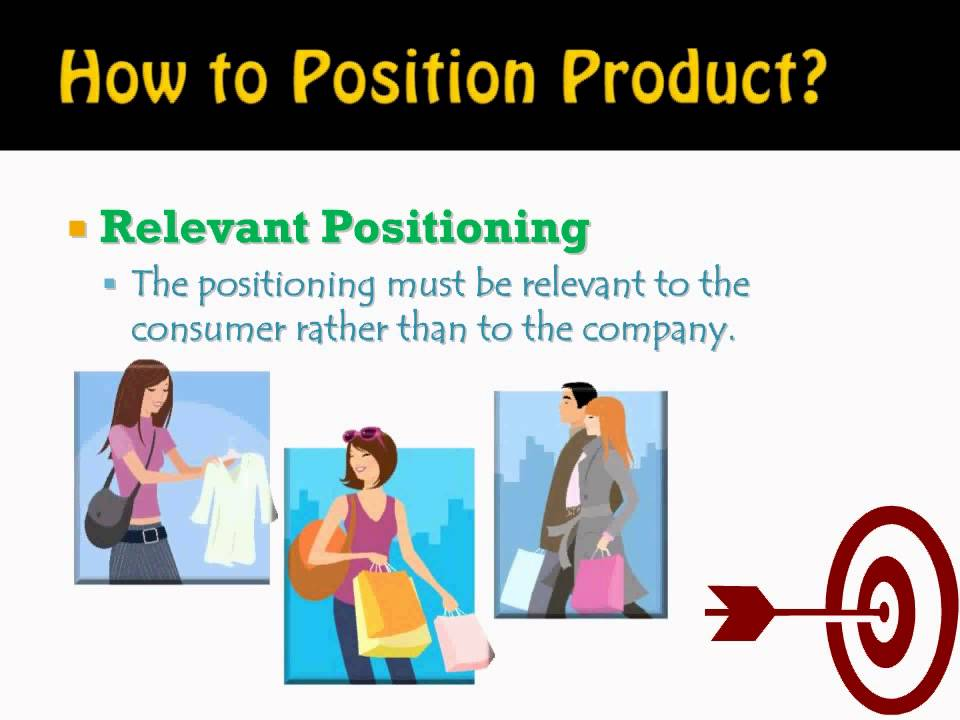example of differentiation positioning A key to positioning a product or brand effectively is to discover the perceptions in the minds of potential customers this involves taking four steps, one of which includes discovering where the company's product or brand is on the relevant attributes in the minds of potential customers.