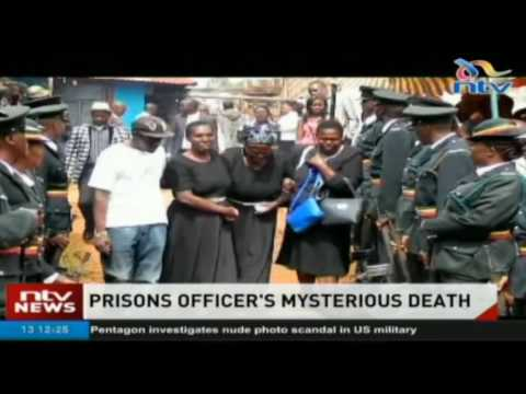 Newly-employed prisons officer buried after mysterious death