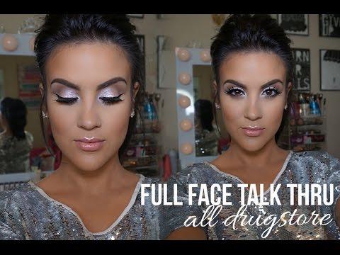Full Face Talk Thru (Prom) Makeup Tutorial: ALL DRUGSTORE