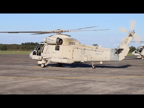 Royal New Zealand Navy Seasprite Helicopters retired 2016