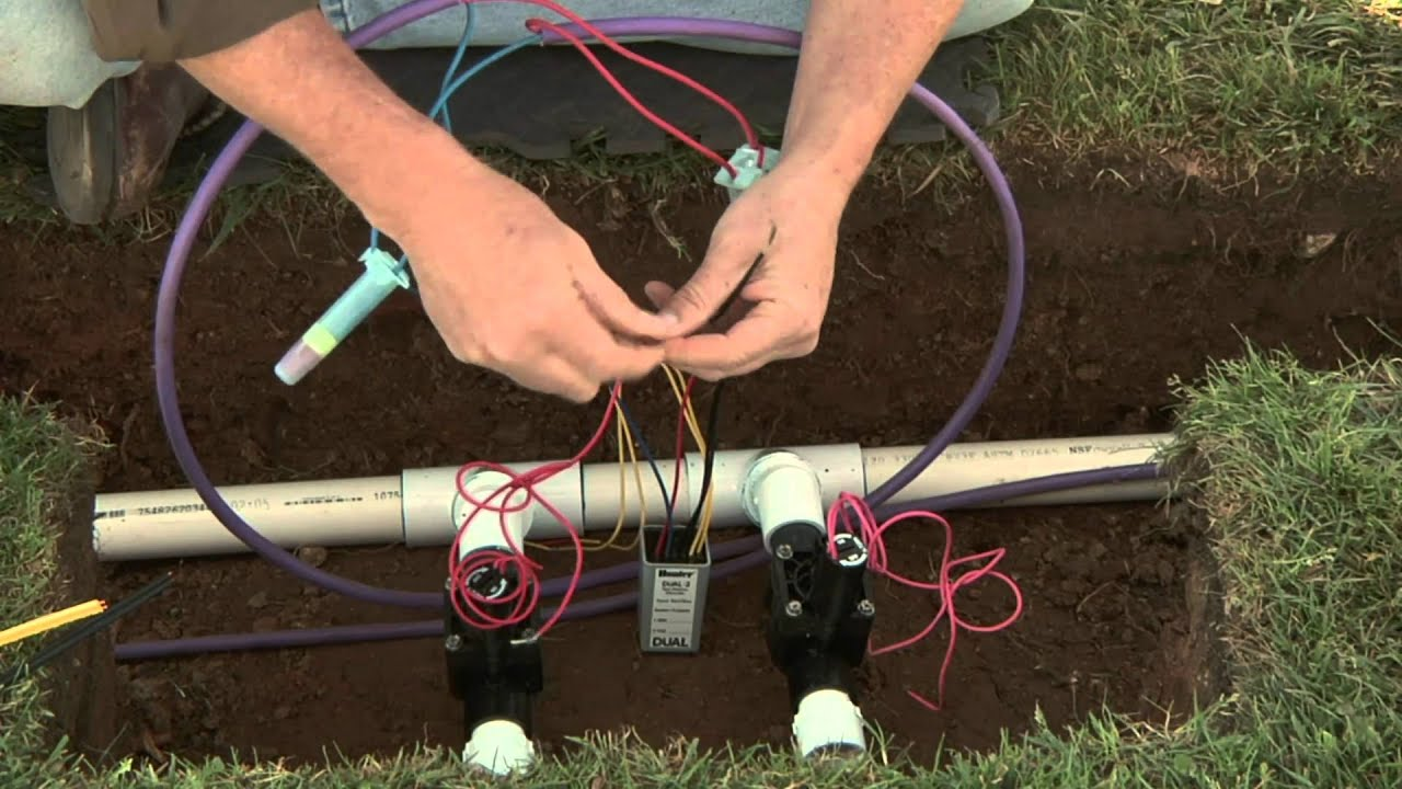 small resolution of hunter dual two wire installation connecting decoders to valve solenoids 5 of 8 hunter irrigation