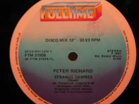 Peter Richard  Strange desires 1981