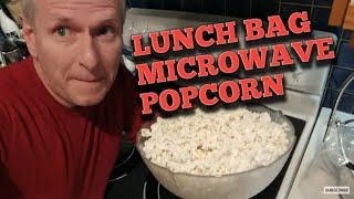 how to make microwave popcorn using