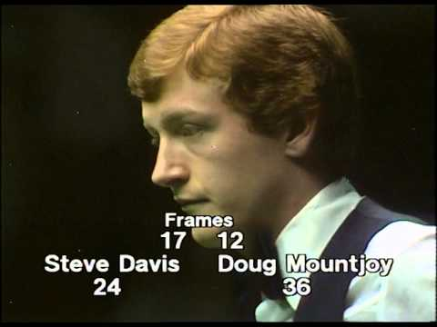1981 World Snooker Championship Final - Steve Davis v Doug Mountjoy