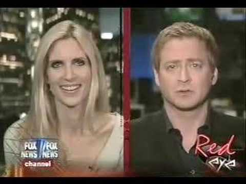 Andrew Levy Asks Ann Coulter the Donnie Deutsch Question!