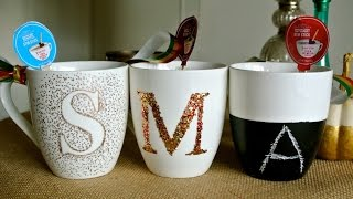D.i.y. Personalized Mugs