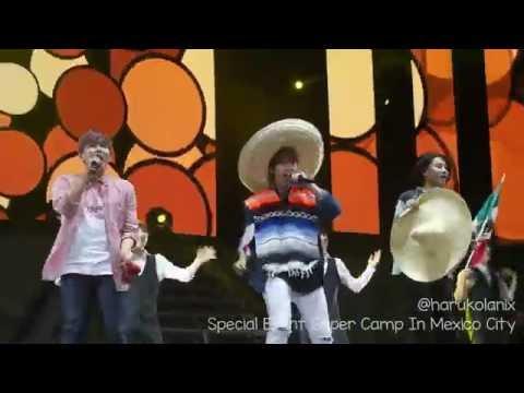 [FanCam] Super Camp in Mexico City Arena ~ Ai Se Eu Te Pego ~ 20160705
