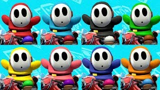 Mario Kart 8 Deluxe - All Shy Guy Colors (Online Races)