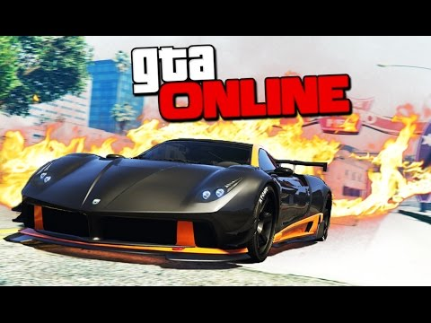 GTA 5 Online (Гонки на руле) - Горячие рампы! #102