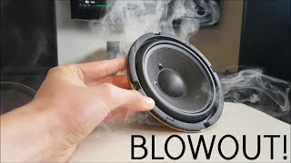 SPEAKER BLOWOUTS! (1000 Subscriber Special)