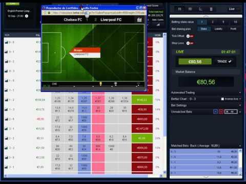 +30€ Profit Trading betfair Chelsea 1 - 2 Liverpool. +30 PROFIT...