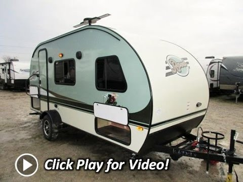 2016 R Pod 180 Ultra Lite Rear Bathroom Tear Drop Travel Trailer By Forest River