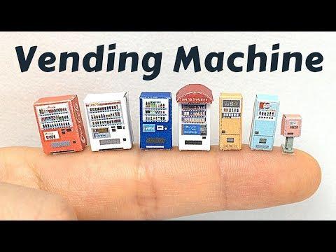Paper Craft Sankei 1/150 Diorama Option Kit Vending Machine A