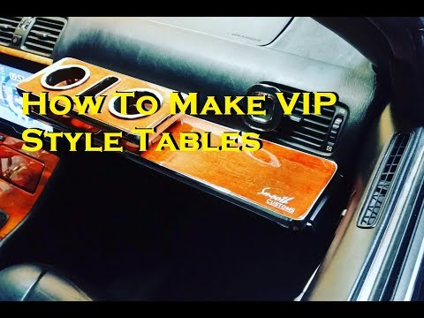 How To Make VIP Style Tables