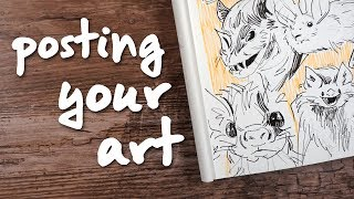 Tips for Artists on Social Media - Growing a following, Posting Art & More