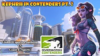 Kephrii in Contenders Pt.2 Busan Control - DOES HE POP OFF?