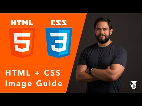 HTML Tutorial: Easy Way To Use Images With HTML And CSS Website