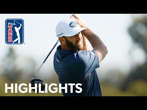 Dustin Johnson shoots 3-under 68 | Round 1 | Genesis | 2021