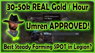 THE SPOT - 30-50k/h REAL Gold Farming Guide - Million Gold in 7 Days - Recap #2