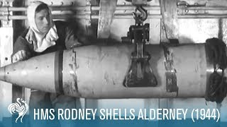 Rodney Shells Alderney (1944)