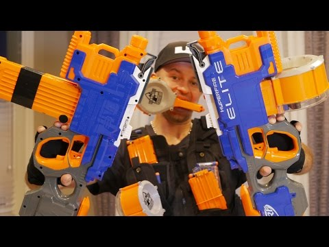 Nerf Elite HYPERFIRE Blaster | Nerf Gun Review & Unboxing in 4K!