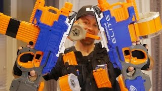 Nerf Elite HYPERFIRE Blaster | Nerf Gun Review & Unboxing in 4K!