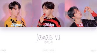 [HAN|ROM|ENG] BTS (방탄소년단) - Jamais Vu (Color Coded Lyrics)