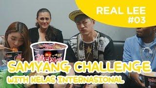 [Real Lee Diary #3] Samyang & Boncabe Challenge with Yoora, DK(Langston), Simon(Nicole)