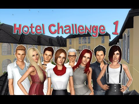 Let's Play the Sims 3: Hotel Challenge- (Part 1) FIRST DAY w/ Commentary