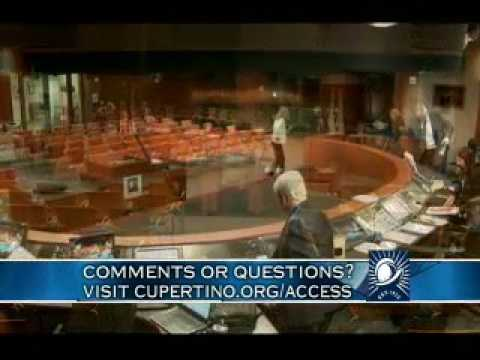 Conspiracy Nut Narcissist Lisa Warren Ranting After Cupertino City Council Meeting Ended 10-18-16