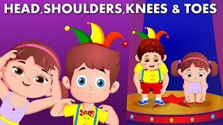 Head Shoulders Knees and Toes | Nursery rhymes and Children Songs | Parts of the Body
