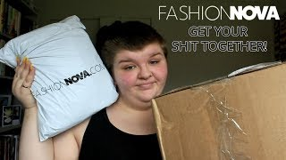 WTF FASHION NOVA?! | FASHION NOVA PLUS SIZE FASHION HAUL, TRY ON & REVIEW! | Chloe Benson