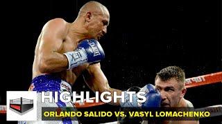 Orlando Salido le arrebata el sueño a Vasyl Lomachenko / VIDEO - HIGHLIGHTS