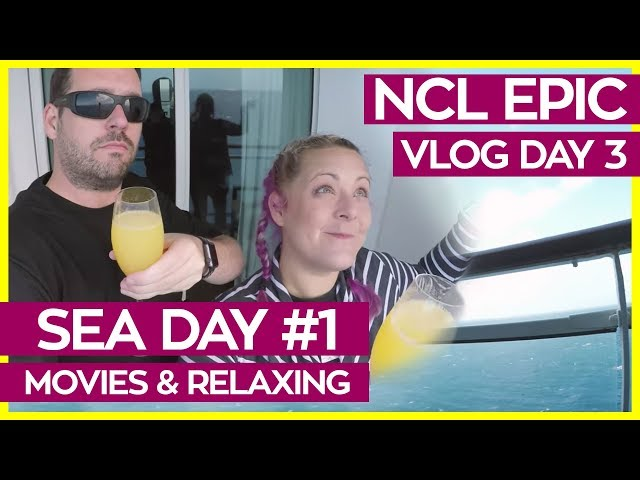 Take A Sea Day For Yourself | Norwegian Epic Cruise Vlog Day 03