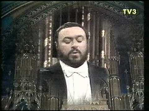 Luciano Pavarotti - Montreal - 1978 - Panis Angelicus (César Franck)