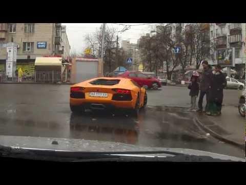Lamborghini Aventador in Kiev HD (31.03.2012)