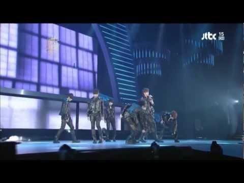 [LIVE] Infinite - Paradise + Be Mine@2011 GOLDEN DISK AWARD