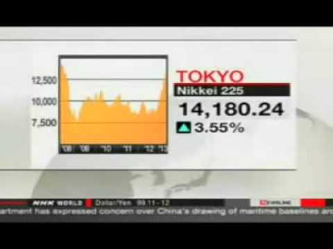Japan's Nikkei hits five-year high