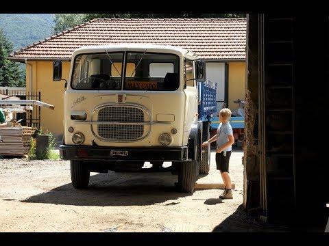 Finalmente che qualcuno ha pensato di dare importanza anche al vecchio camion Fiat 643