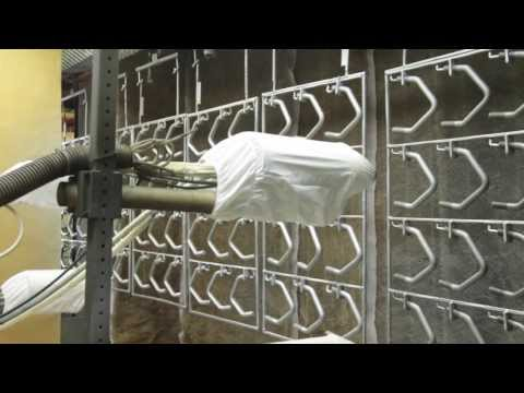 Electrostatic Spray Coating Application - Video 3