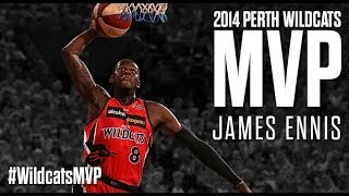 Perth Wildcats - James Ennis MVP 2014