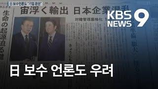 주가 하락, 전세기 취소…일본 경제 되려 악영향  / KBS뉴스(News)