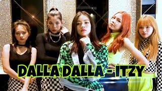 ITZY (DALLA DALLA) MV dance Cover by i Queen from thailand