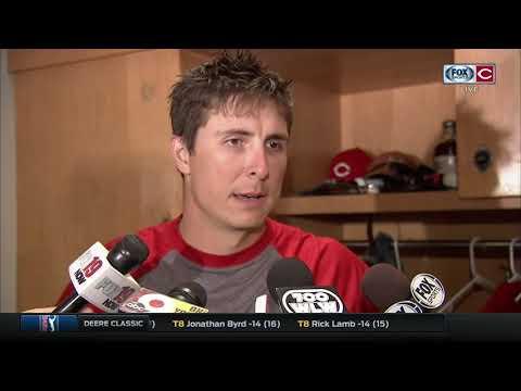 Homer Bailey won't make excuses, puts Cincinnati Reds loss on himself