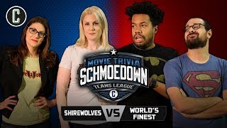 Shirewolves VS World's Finest & Anarchy Team Announcements - Movie Trivia Schmoedown
